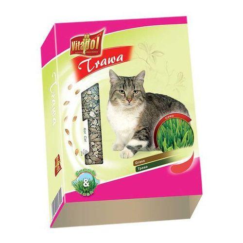 trawa dla kota (karton) 100g marki Vitapol
