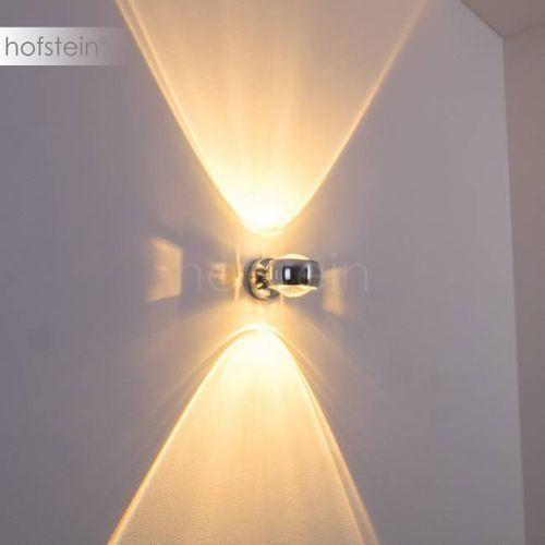 Hofstein Sapri lampa ścienna chrom chrom, 1-punktowy - nowoczesny - obszar wewnętrzny - sapri - czas dostawy: od 2-4 dni roboczych (4260303168128)