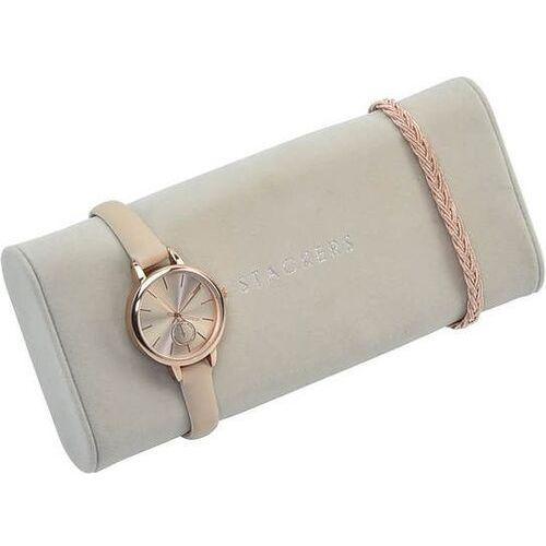 Stackers Poduszka na zegarki jasnoszara velvet