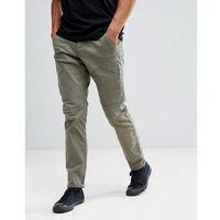 Esprit cargo trouser in light khaki - green