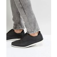 Call It Spring Shysie Lace Up Shoes In Black - Black