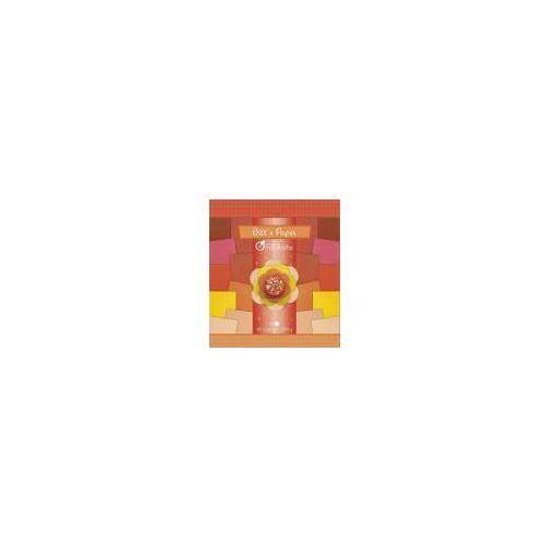 Papier Glitter czerwienie pomarańcze (3065500526822)