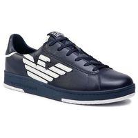 Ea7 emporio armani Sneakersy - x8x043 xk075 a138 navy/white