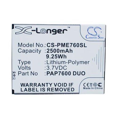 Cameron sino Prestigio multiphone 7600 duo / pap7600 duo 2500mah 9.25wh li-polymer 3.7v () (4894128107323)
