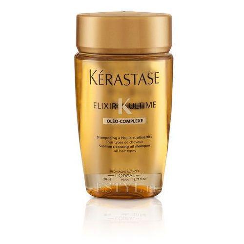 elixir ultime oleo complex bain | kąpiel do każdego rodzaju włosów - 80ml wyprodukowany przez Kerastase