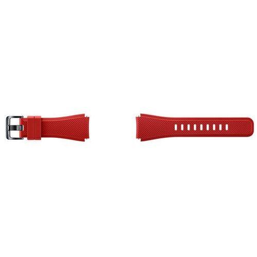 gear s3 active silicon band pasek et-ysu76mregww (czerwony) - produkt w magazynie - szybka wysyłka! marki Samsung