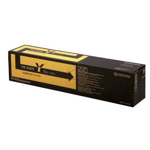 Kyocera oryginalny toner TK8305Y, yellow, 15000s, 1T02LCANL0, Kyocera 3050Ci,3550Ci,3051ci (0632983021972)