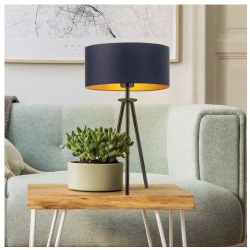 Designerska lampka nocna do sypialni alta gold marki Lysne