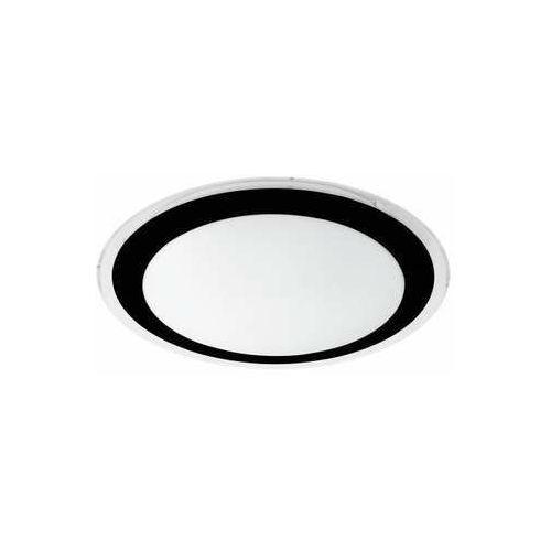 Eglo Competa 2 99404 plafon lampa ścienna/sufitowa 1x18W LED biały/czarny