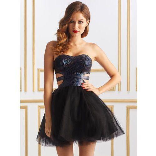 Sukienka casandra w kolorze czarnym od producenta Sugarfree.pl