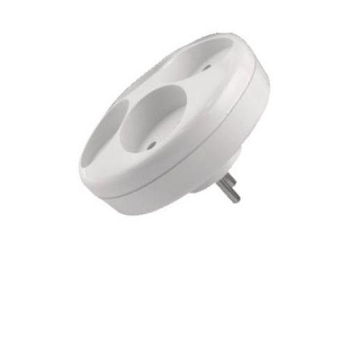 Abex Rozgałęziacz 4ok bez uziemieniem biały r-40
