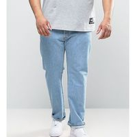 Levi's Big & Tall 501 Straight Jeans Light Broken In - Blue