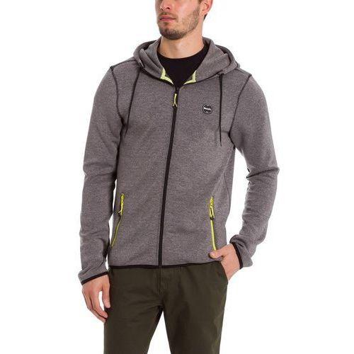 Bench Bluza - tech zip hoodie black beauty marl (ma1010) rozmiar: xxl