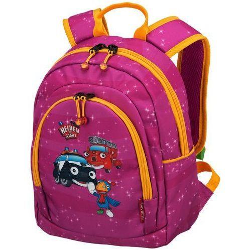 Travelite Bohaterowie Miasta plecak podróżny dla dziecka / różowy - Pink (4027002065673)