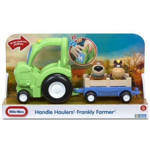 Zabawka LITTLE TIKES 636189M Pojazd z uchwytem Traktor Frankly Farmer