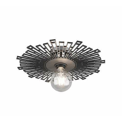 Trio RL Milo R60131002 plafon lampa sufitowa 1x60W E27 chromowy/czarny, kolor Chrom