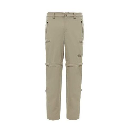 Spodnie EXPLORATION CONVERTIBLE PANT MEN - dune beige, nylon
