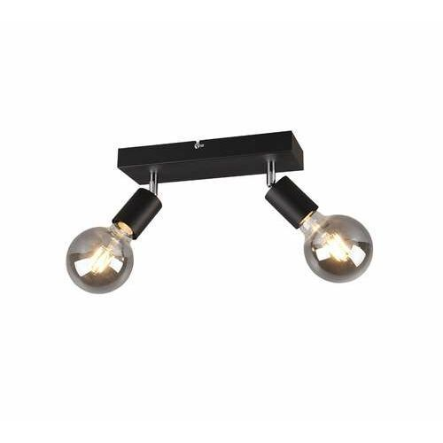 rl vannes r80182032 plafon lampa sufitowa 2x40w e27 czarny marki Trio