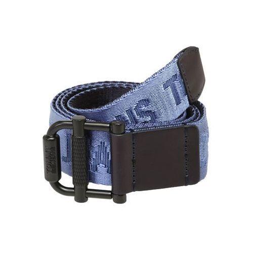 Tommy jeans pasek 'tjm roller rev webbing belt 3.5' niebieski / ciemny niebieski (8719859099586)