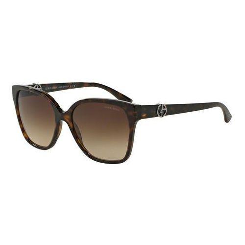 Okulary Słoneczne Giorgio Armani AR8061F Asian Fit 502613, kolor żółty