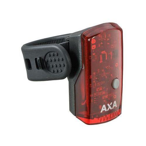 Lampka tylna AXA Greenline 1 dioda USB czerwona