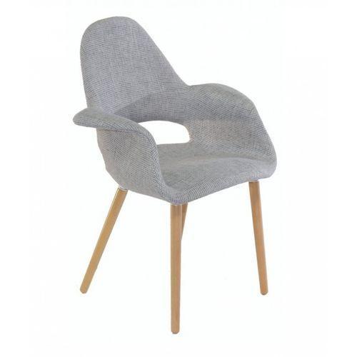 Krzesło malaga szara tapicerka marki Malo design