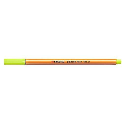 Cienkopis point 88 0,4mm żółty neonowy 88/024 marki Stabilo