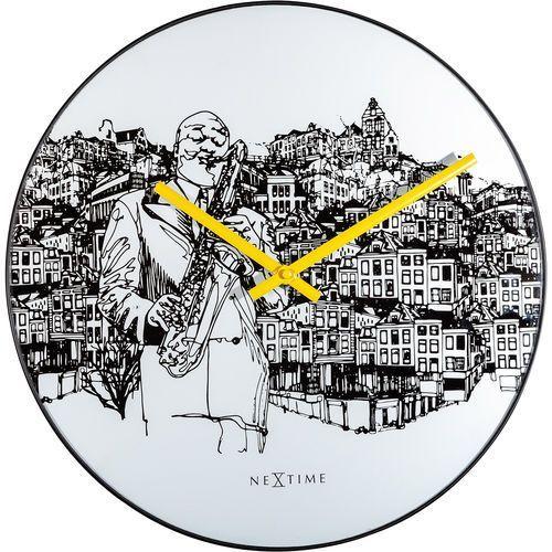 Nextime Zegar ścienny sax city 40 cm (8192)