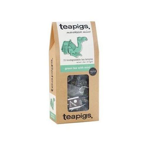 Teapigs  green tea with mint 15 saszetek piramidek