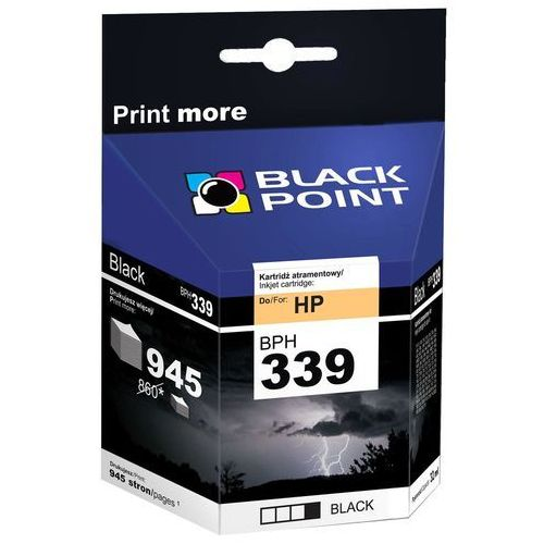 [BPH339] Ink/Tusz Black Point | (HP C8767EE) black (5907625610186)