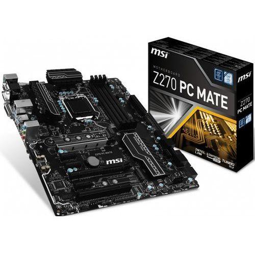 Płyta główna MSI Z270 PC MATE (LGA 1151 DIMM DDR4 ATX)- wysyłamy do 18:30 (4719072490072)