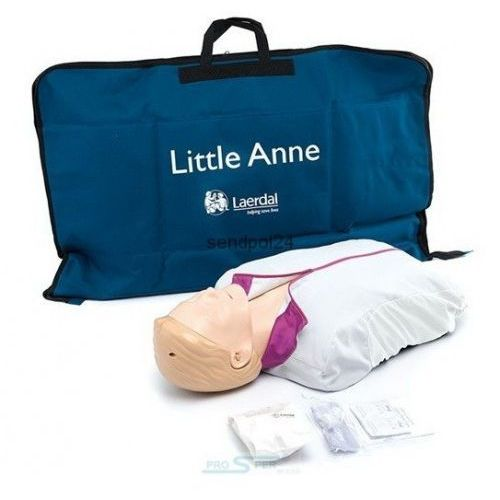 AED Little Anne - fantom z obsługa AED, 122-01050