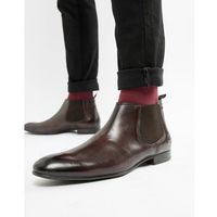 Base london croft chelsea boots in brown - brown