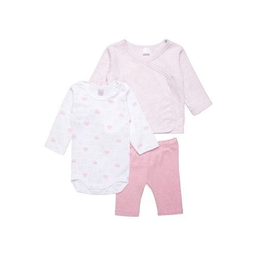 Kanz LITTLE CAT SET Kardigan ballerina melange/rose