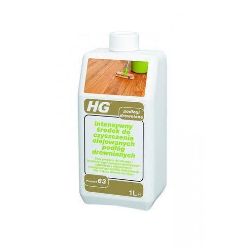 HG intensywny środek do czyszczenia olejowanych podłóg drewnianych