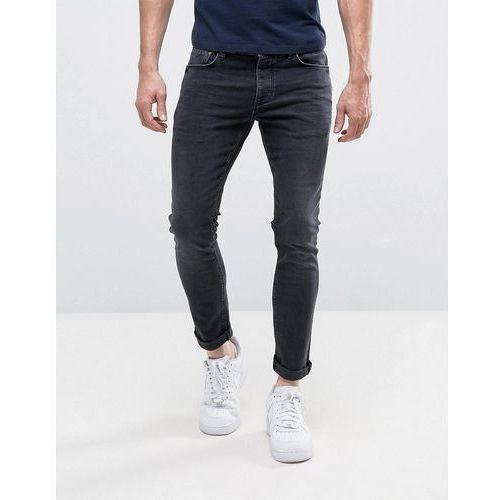 skinny jeans in washed black - black marki River island
