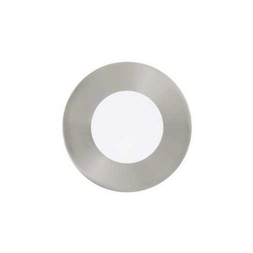 Plafon fueva 1 94518 lampa oprawa wpuszczana downlight oczko 1x2,7w led nikiel mat / biały okr. marki Eglo