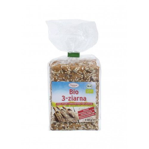 Chleb chrupki BIO 3 ziarna pełnoziarnisty 150g Benus (4100550406508)