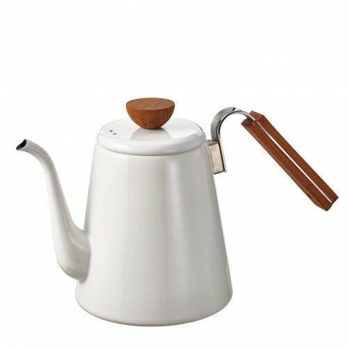 Hario bona coffee enamel drip kettle czajnik 0,8l