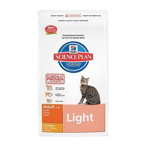 HILL'S Feline Adult Light Chicken 1,5kg - 1,5kg