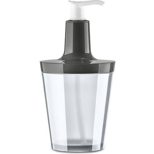 Dozownik do mydła Flow ciemnoszary, 5879324