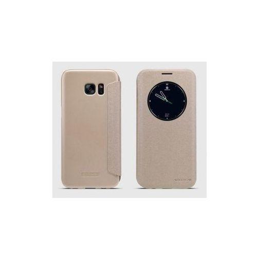 Nillkin Sparkle Galaxy S7 Edge Gold z kategorii Futerały i pokrowce do telefonów