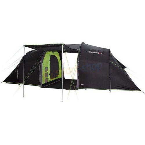 Namiot 6-osobowy turystyczny tauris 6 (ciemnoszary) marki High peak