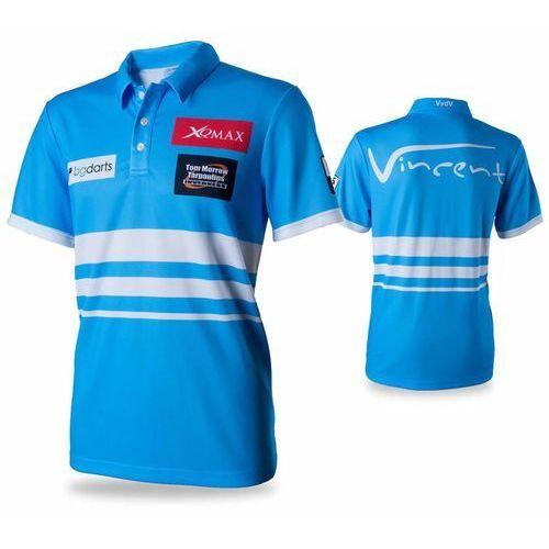 XQmax Darts Replika koszulki meczowej VvdV, rozmiar M, niebieska (8719033335684)