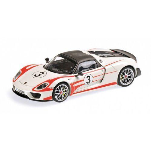 Porsche 918 spyder weissach package w/salzburg racing design #3 2013 marki Minichamps