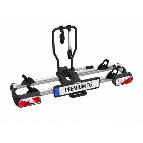 Składany bagażnik na rowery EUFAB PREMIUM TG uchwyt na hak uchylny, 11571