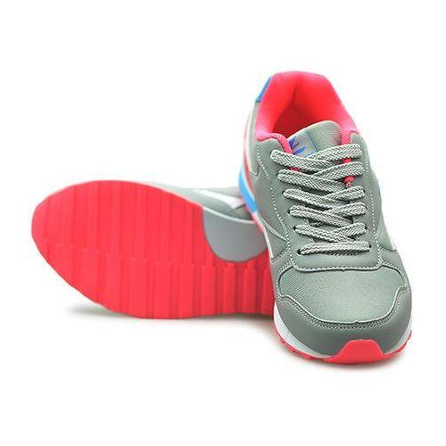 Modne buty sportowe damskie szare, Arturo