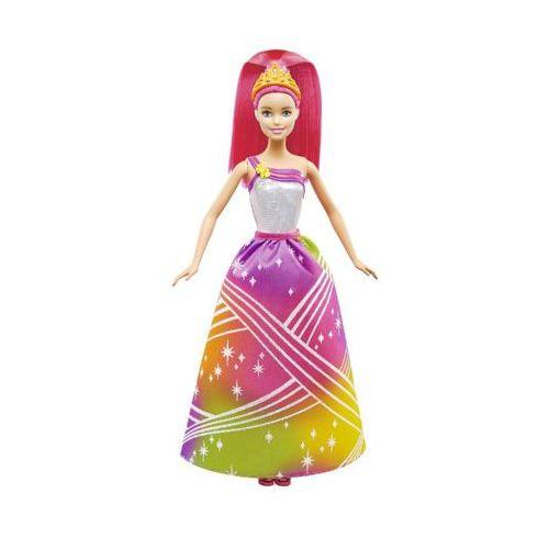 dpp90 dreamotopia tęczowa księżniczka ze światełkami lalka 3+ marki Barbie