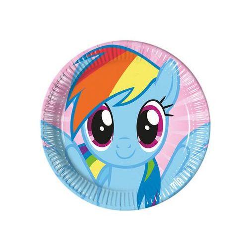 Talerzyki urodzinowe My Little Pony Rainbow - 23 cm - 8 szt. - sprawdź w wybranym sklepie