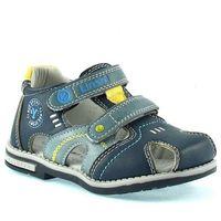 Sandały dziecięce a1239 - kolorowy ||granatowy marki Lin shi